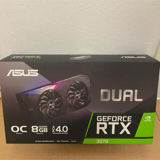 ASUS - ASUS RTX 3070 DUAL OC (中古保証有り)