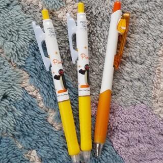 PILOT - ピングーなど 黒ボールペン 3本