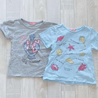 しまむら - 130cmTシャツ2枚