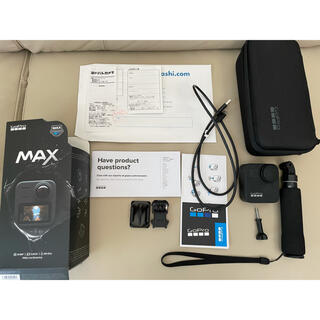GoPro - 【美品】GoPro MAX 自撮り棒・5年保証付き