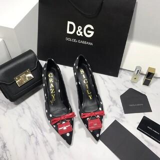 ドルチェアンドガッバーナ(DOLCE&GABBANA)の「新品」D&Gハイヒール(その他)