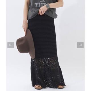 Plage - Plage Crochet スカート 36 クロシェスカート