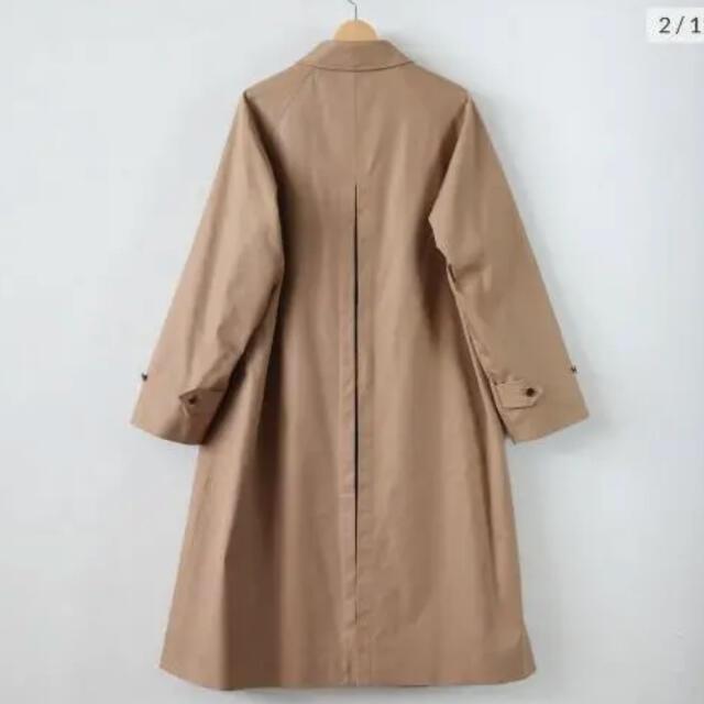 COMOLI(コモリ)のAULAREE オーラリー 20ss  ステンカラーコート コットンシルクギャバ メンズのジャケット/アウター(ステンカラーコート)の商品写真
