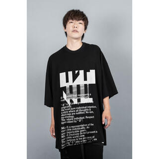ユリウス(JULIUS)のIKE着用NILøS x IKE OVER SIZE T-SHIRT(Tシャツ/カットソー(半袖/袖なし))