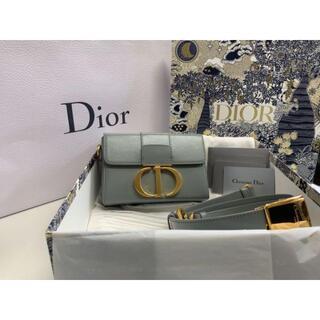 """ディオール(Dior)の""""30 MONTAIGNE"""" カーフスキン バッグ 人気のグレー(ショルダーバッグ)"""