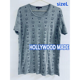 ハリウッドメイド(HOLLYWOOD MADE)のハリウッドメイド HOLLYWOOD MADE サイズL Tシャツ 送料込(Tシャツ/カットソー(半袖/袖なし))