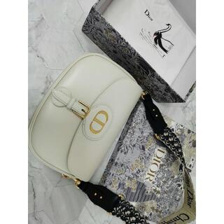ディオール(Dior)のDIOR BOBBY ラージバッグ ボックスカーフスキン(ショルダーバッグ)
