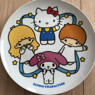 サンリオ(サンリオ)のサンリオ ローソンコラボ 絵皿 皿(食器)
