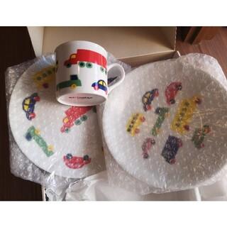 marimekko - marimekkoマリメッコPikku Bo Booお皿プレート2枚とマグカップ