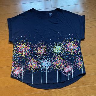 Design Tshirts Store graniph - バックボタンラウンドネックショートスリーブ Tシャツ