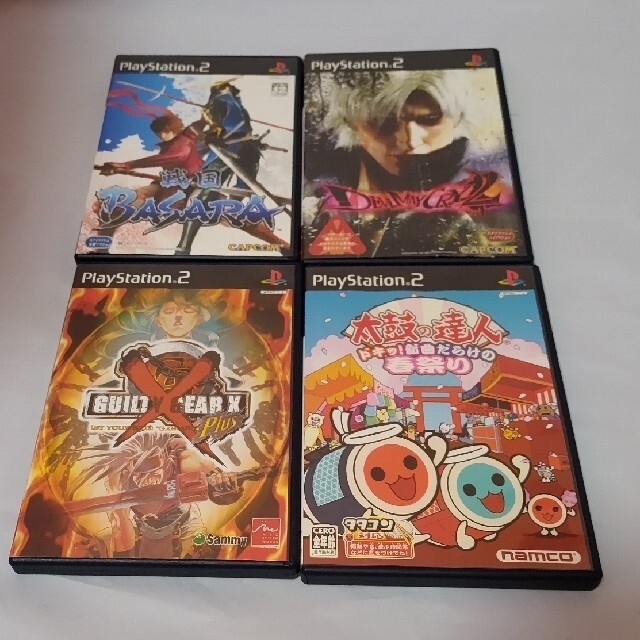 PlayStation2(プレイステーション2)のPS2ソフト 24本セット エンタメ/ホビーのゲームソフト/ゲーム機本体(家庭用ゲームソフト)の商品写真