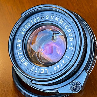 ライカ(LEICA)のLeica ライカ SUMMICRON-C 40mm f/2 Mマウント(レンズ(単焦点))
