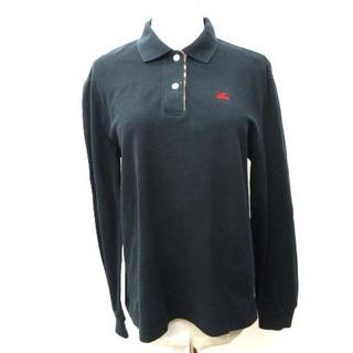 バーバリー(BURBERRY)のバーバリー ヴィンテージ ポロシャツ 半袖 国内正規 ワンポイント刺繍 M(ポロシャツ)