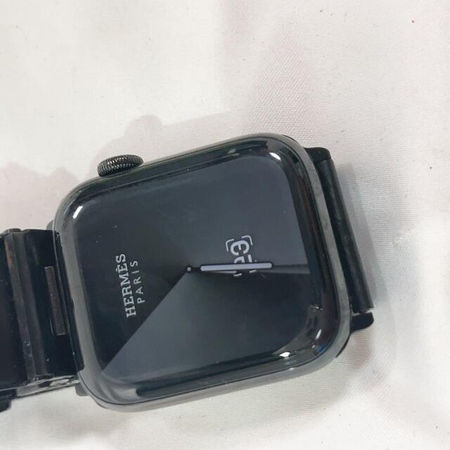 Applewatch series6 HERMES 44mm ブラックモデル  スマホ/家電/カメラのスマートフォン/携帯電話(その他)の商品写真