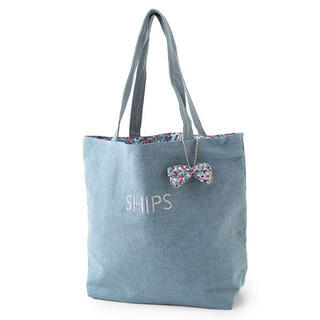 SHIPS for women - SHIPS for women LIBERTY プリントエコバッグ エコバック