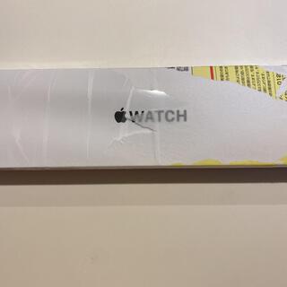 アップル(Apple)の【新品未開封】Apple Watch SE 40mm シュリンク(その他)