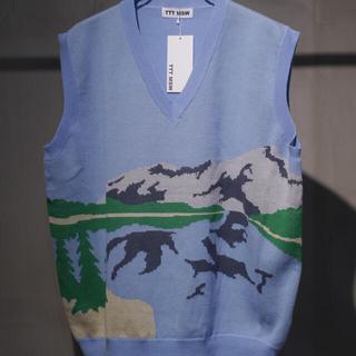 ジエダ(Jieda)のttt msw yosemite knit vest ニットベスト(ベスト)
