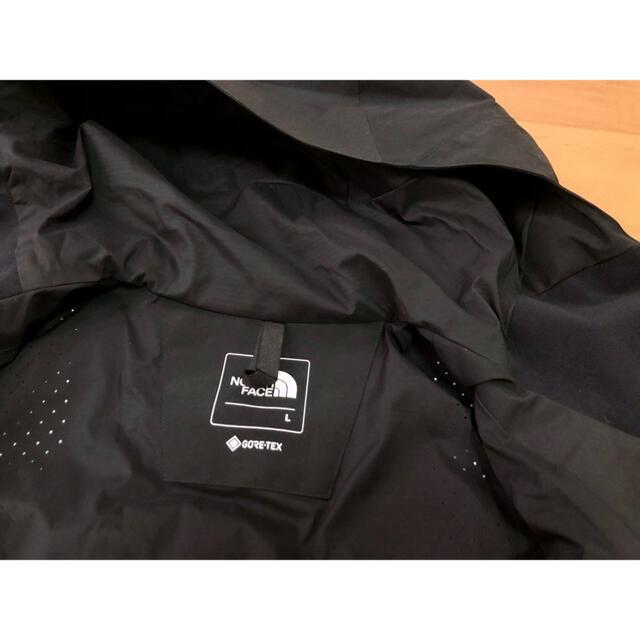 THE NORTH FACE(ザノースフェイス)のTHE NORTH FACE  マウンテンジャケット L 黒 ノースフェイス メンズのジャケット/アウター(マウンテンパーカー)の商品写真