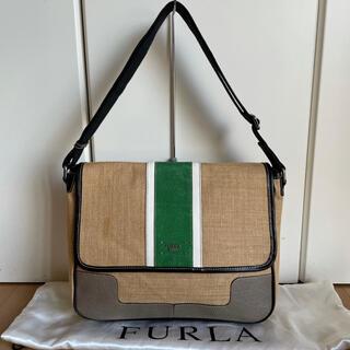 フルラ(Furla)のフルラウォモ FURLA UOMO 夏素材ショルダーバッグ 中古(ショルダーバッグ)