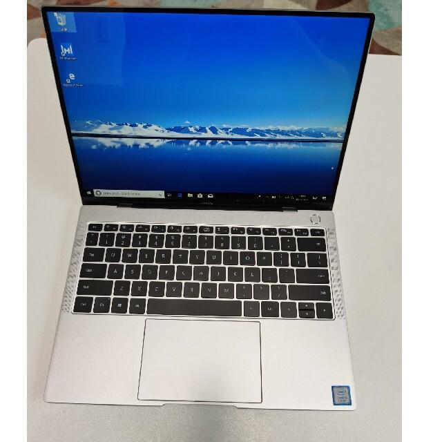 HUAWEI(ファーウェイ)の値下げ!HUAWEI MateBook X Pro i5 8+256 MX150 スマホ/家電/カメラのPC/タブレット(ノートPC)の商品写真