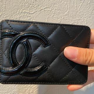 CHANEL - シャネル カンボンライン カードケース 名刺入れ 財布