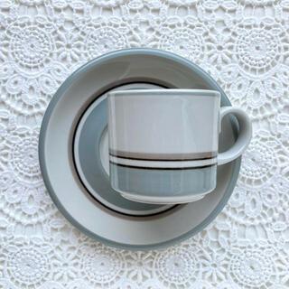 ARABIA - ARABIA kuru + No.3 + コーヒーカップ&ソーサー