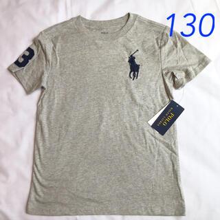 POLO RALPH LAUREN - ラルフローレン ビッグポニー半袖Tシャツ グレー 7/130