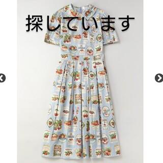 ジェーンマープル(JaneMarple)のJanemarple Cherry labels コレットドレス(ひざ丈ワンピース)
