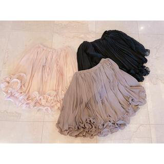 ダブルスタンダードクロージング(DOUBLE STANDARD CLOTHING)のダブスタ Sov スカート3点セット(ひざ丈スカート)