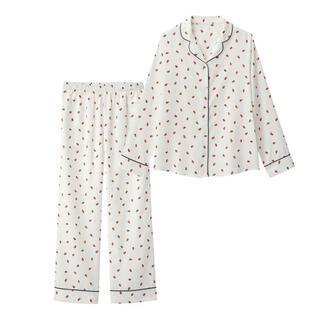 ジーユー(GU)のいちごパジャマ(パジャマ)