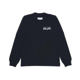 sacai - 4 sacai × KAWS サカイ カウズ ロングスリーブ Tシャツ