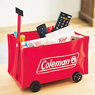 Coleman - 【新品】Coleman ミニチュア収納ワゴン 8月号 付録 モノマックス