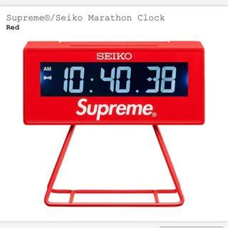 Supreme - Supreme 21SS SEIKO Marathon Clock 時計 ②