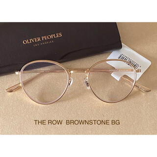 Oliver Peoples × THE ROW BROWNSTONE メガネ