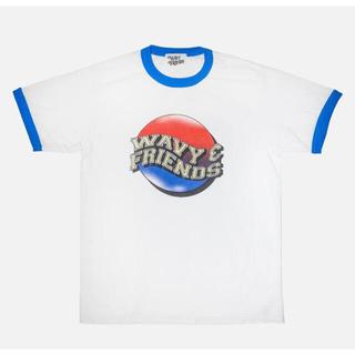 アベイシングエイプ(A BATHING APE)の専用 wavy friends Tシャツ(Tシャツ/カットソー(半袖/袖なし))