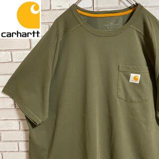 carhartt - 90s 古着 カーハート 2XL ポケットTシャツ ロゴタグ ビッグシルエット