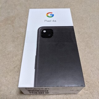 Google - Google pixel 4a ジェットブラック