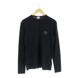 アルマーニ コレツィオーニ(ARMANI COLLEZIONI)のアルマーニ コレツィオーニ Tシャツ カットソー 長袖 ロゴプリント L 紺 (Tシャツ/カットソー(七分/長袖))