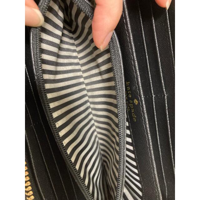 kate spade new york(ケイトスペードニューヨーク)のケイトスペード 長財布 財布 黒 レディースのファッション小物(財布)の商品写真