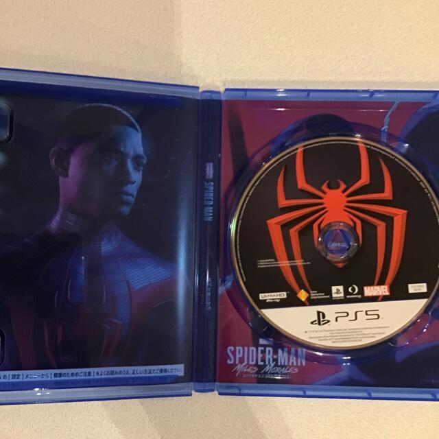 PlayStation(プレイステーション)のMarvel's Spider-Man: Miles Morales(スパイダー エンタメ/ホビーのゲームソフト/ゲーム機本体(家庭用ゲームソフト)の商品写真