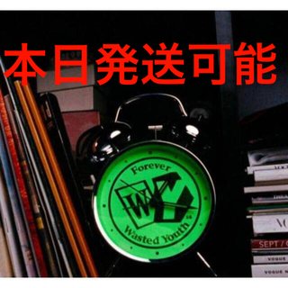 Supreme - Tokion × Wasted Youth verdy 置時計 ブラック 新品