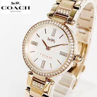 コーチ(COACH)の★定価6.3万スワロフスキー★COACHコーチ 女性レディース 新品 腕時計(腕時計)