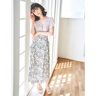 MERCURYDUO - カットワーク刺繍ナロースカート