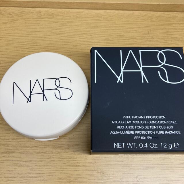 NARS(ナーズ)の洗浄済パフ2枚付きベスコス1位NARS クッションファンデ 511 コスメ/美容のベースメイク/化粧品(ファンデーション)の商品写真