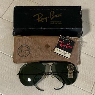 レイバン(Ray-Ban)の【新品・レア】RayBan ボシュロム USA製 アウトドアーズマン ブラック(サングラス/メガネ)