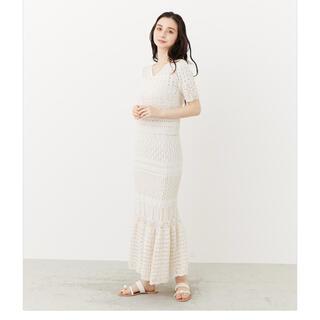 rienda - クロシェマーメイドJ/W Knit SK