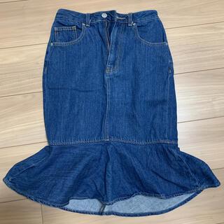 GU - デニム スカート