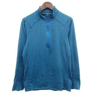 パタゴニア(patagonia)のパタゴニア Patagonia サーマルウェイト ロンT カットソー S 青(Tシャツ/カットソー(七分/長袖))
