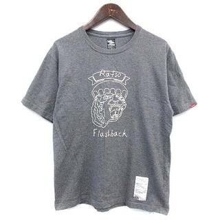 NEIGHBORHOOD - ネイバーフッド NEIGHBORHOOD Tシャツ ステッチ 刺繍 3 グレー
