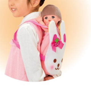 ニシマツヤ(西松屋)のメルちゃん 抱っこ紐(ぬいぐるみ/人形)